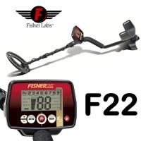 Металлоискатель Fisher F22 mono