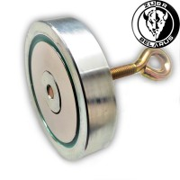 Поисковый магнит «ЗУБР» 200кг - односторонний F200